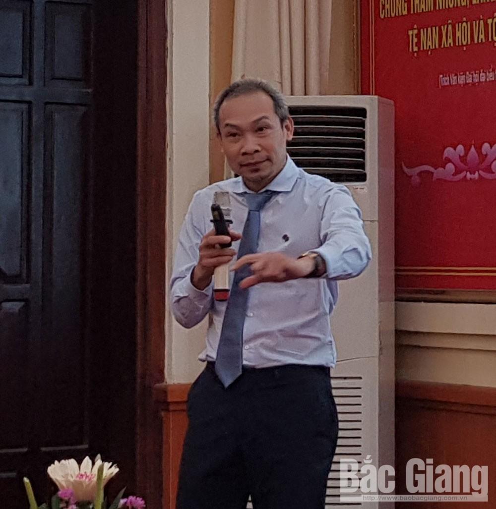 cách mạng 4.0, TP Bắc Giang, Bắc Giang, Phan Đức Hiếu, Nguyễn Đình Hùng