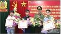 Công an tỉnh khen thưởng 3 công dân huyện Lục Nam có thành tích xuất sắc trong phòng, chống tội phạm