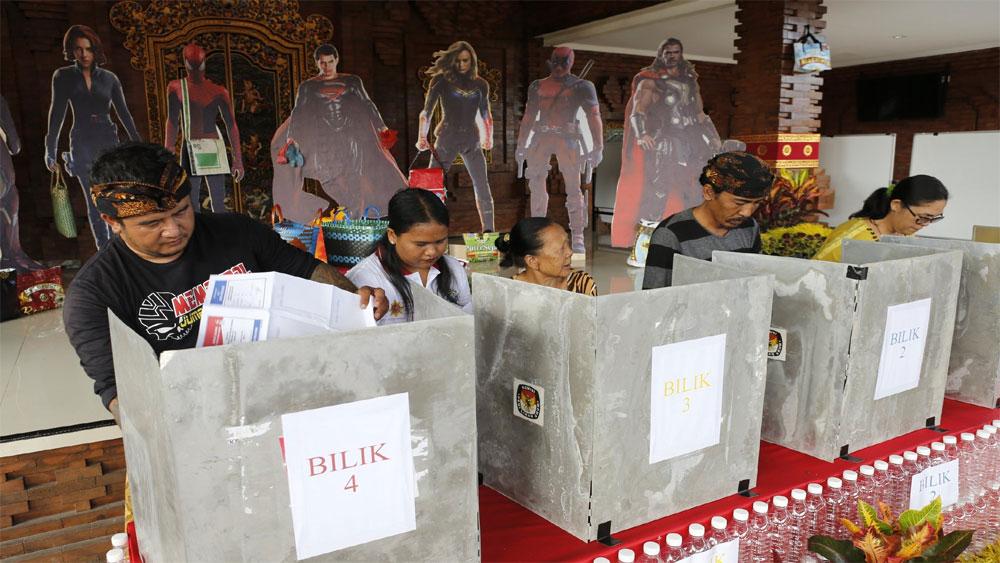 Bầu cử Indonesia, Tổng thống Joko Widodo, tạm dẫn trước