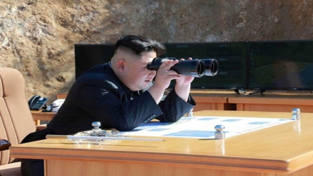 """Triều Tiên, thử một loại vũ khí, """"chiến thuật có điều khiển"""" mới"""