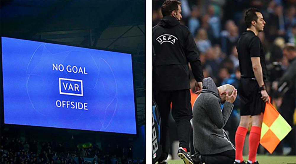 Tottenham, Man City, Champions League, VAR
