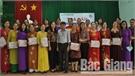 """Tọa đàm """"Phụ nữ Bắc Giang thực hiện vệ sinh an toàn thực phẩm vì sức khỏe cộng đồng"""""""