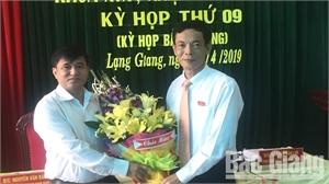 HĐND huyện Lạng Giang bầu bổ sung ủy viên UBND huyện