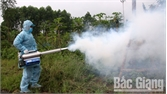 Ra quân phun hóa chất phòng, chống dịch sốt xuất huyết