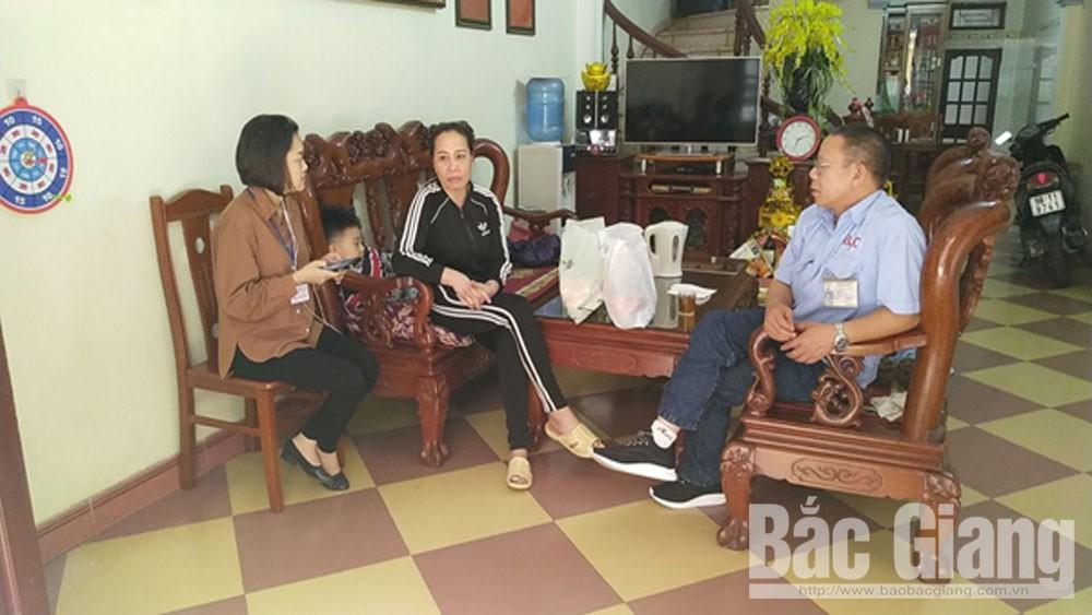 Xã Tân Tiến, hoàn thành tổng điều tra dân số, và nhà ở năm 2019