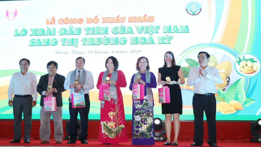 Việt Nam, xuất khẩu, lô xoài đầu tiên, thị trường Mỹ