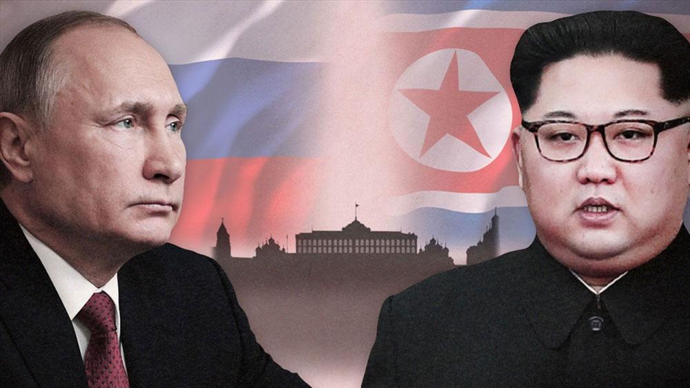 Chủ tịch Kim Jong-un, Tổng thống Putin, cuối tháng 4