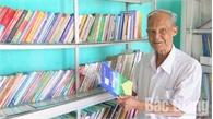 """""""Thủ thư"""" 86 tuổi Đào Quang Huy được Thủ tướng Chính phủ tặng Bằng khen"""