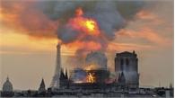 Nhà thờ Đức Bà Paris cháy có thể do chập điện