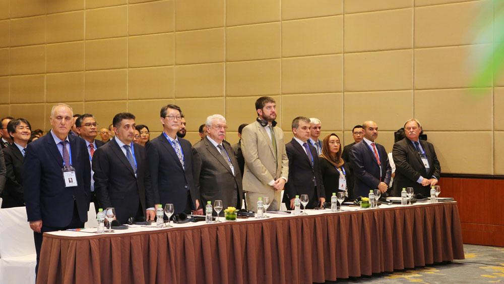 Khai mạc, Hội nghị lần thứ 44, Ban Chấp hành Tổ chức các hãng thông tấn châu Á-Thái Bình Dương