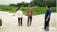 Hai xã Bố Hạ và Nhã Nam phấn đấu cán đích nông thôn mới trước hẹn