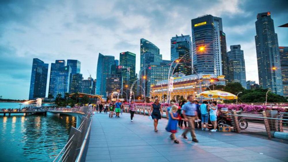 Singapore, ngừng đóng dấu xuất cảnh, khách quốc tế