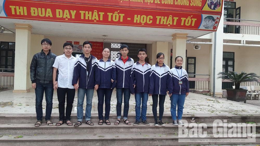 Yên Thế: Đạt kết quả cao kỳ thi học sinh giỏi các môn văn hóa cấp tỉnh