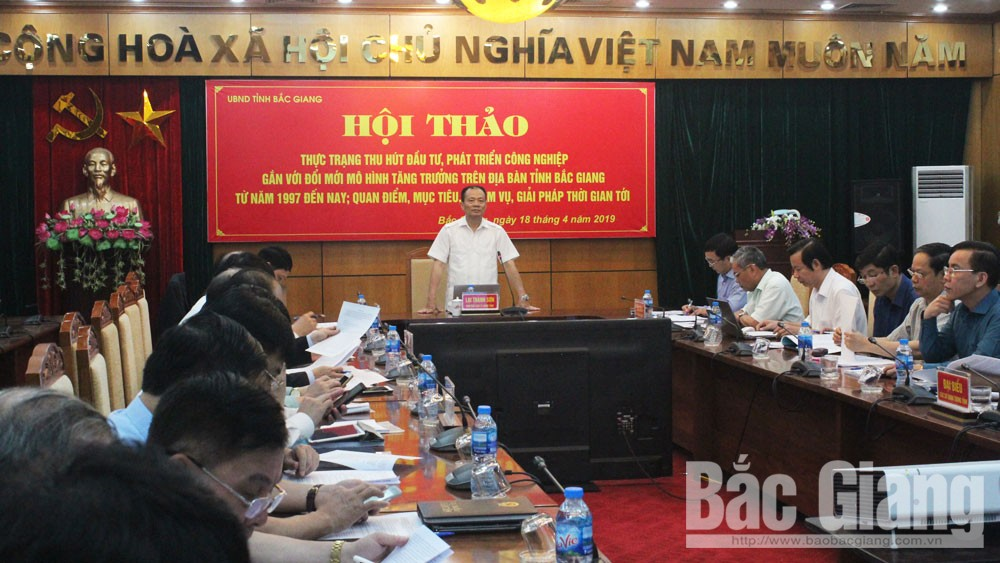 Defining advantages, enhancing effectiveness, investment attraction, Bac Giang province, industrial development, growth model,