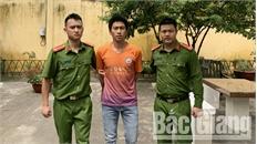 Công an huyện Lạng Giang bắt giữ đối tượng nhiều lần trộm cắp tài sản