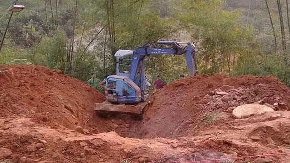 Yên Bái, bắt nghi phạm, giết vợ, phi tang, xác xuống giếng, Nguyễn Văn Huy, Phan Thị Hiền