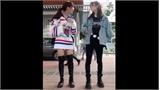 Cô gái trả giá vì giả cụt tay nhờ bạn buộc giày