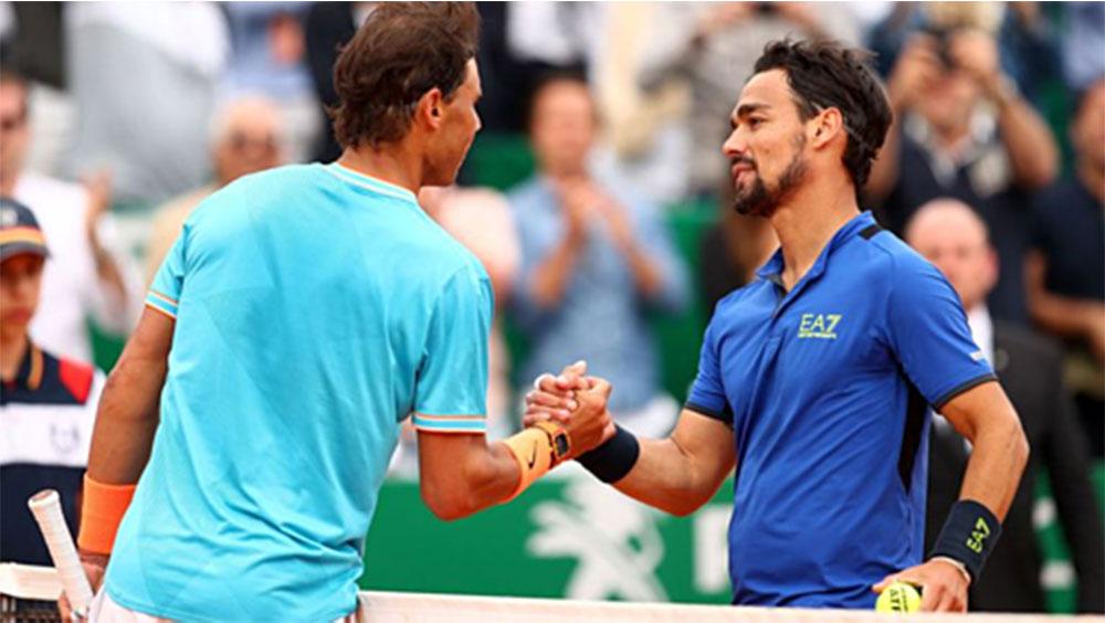 Nadal, Fabio Fognini, Monte Carlo 2019