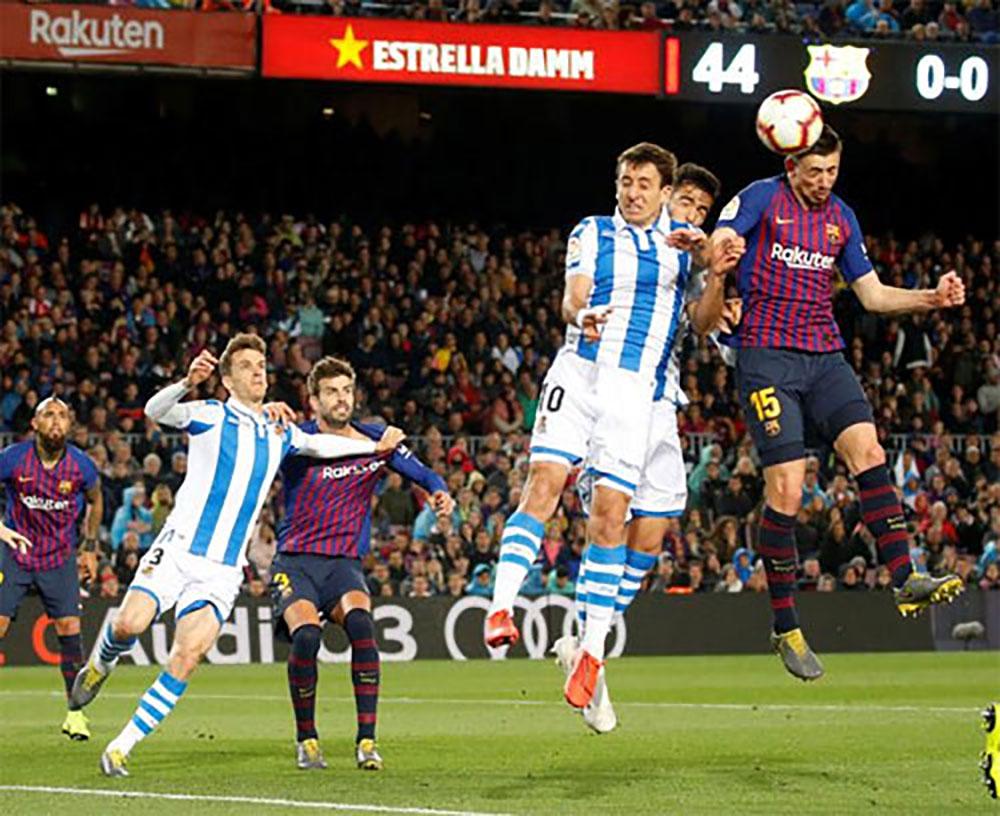 Barca, Sociedad, La Liga