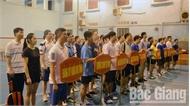 Giải thể thao truyền thống các ban, cơ quan thuộc Tỉnh ủy: Trao 15 bộ giải thưởng