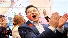 Diễn viên hài chiến thắng áp đảo, trở thành tân Tổng thống Ukraina