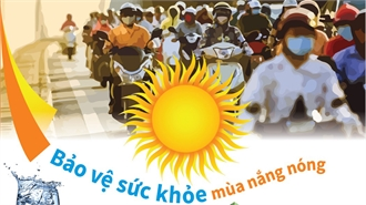 Bảo vệ sức khỏe mùa nắng nóng