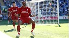Liverpool tái lập cách biệt hai điểm với Man City