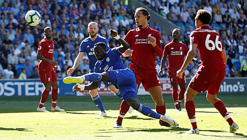 Liverpool, Cardiff, Ngoại hạng Anh