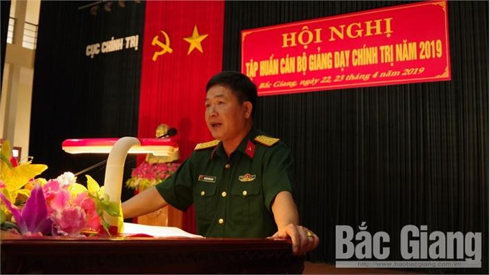 Quân khu 1: Nâng cao kỹ năng, phương pháp giảng dạy chính trị cho bộ đội