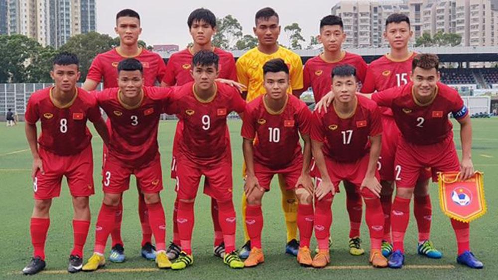 U18 Việt Nam, Á quân, cúp tứ hùng 2019