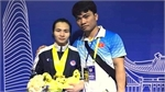 Weightlifter wins three golds at Asian tourney