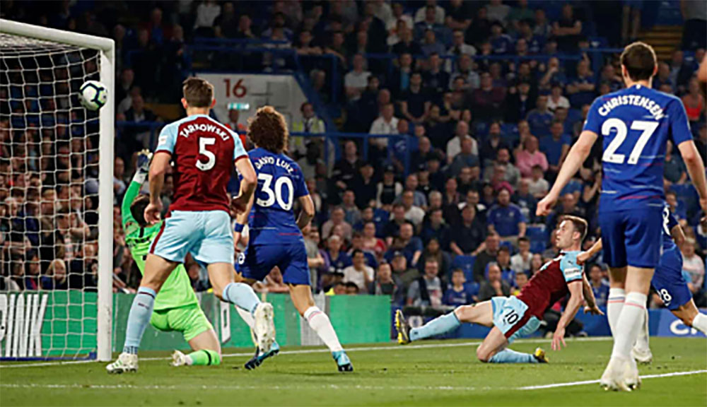 Chelsea, Burnley, ngoại hạng Anh