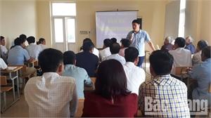Huyện Lục Nam nâng cao nghiệp vụ về du lịch cho cán bộ