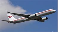 Máy bay chở đoàn đại biểu Triều Tiên tới TP Vladivostok của Nga