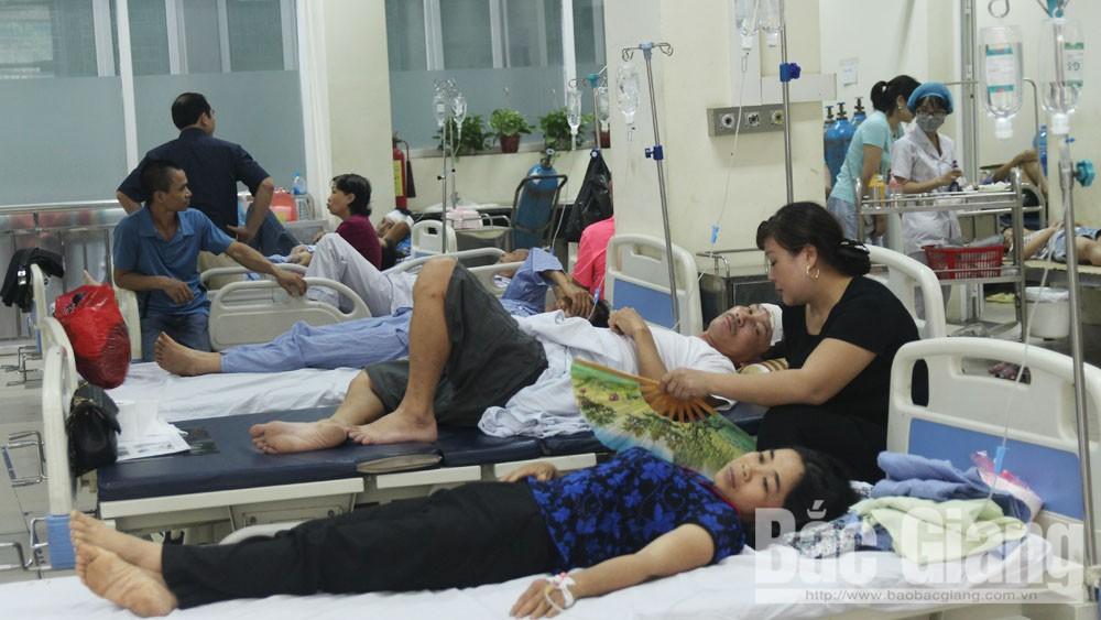 Chớm hè, tỉnh Bắc Giang xuất hiện một số ca bệnh biến chứng nguy hiểm