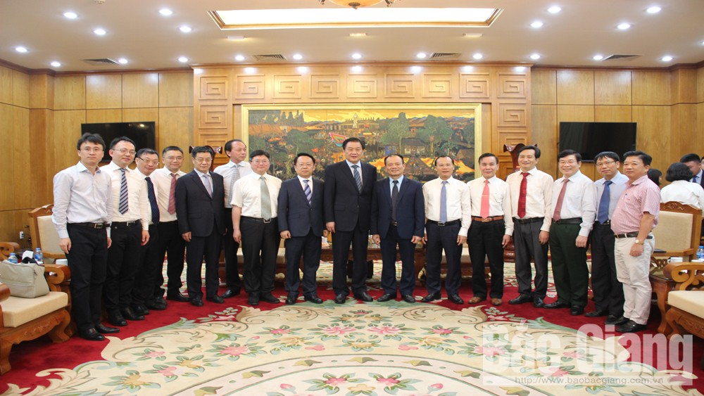 Enhancing relation, Bac Giang province, Taizhou city, China, prominent achievements, socio-economic development, investment attraction, provincial advantages and potentials, Taizhou window