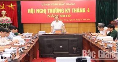 UBND tỉnh họp phiên thường kỳ tháng 4: Tập trung phòng chống dịch bệnh trên cây trồng, vật nuôi