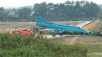 Su-22 gặp sự cố khi huấn luyện bay ở Yên Bái