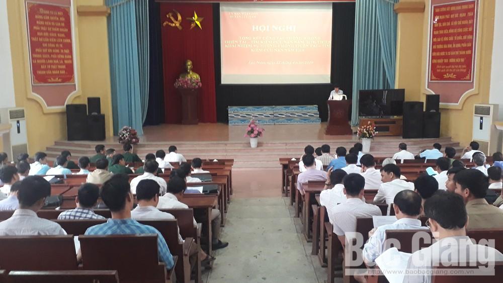 Triển khai công tác phòng, chống thiên tai, tìm kiếm cứu nạn năm 2019
