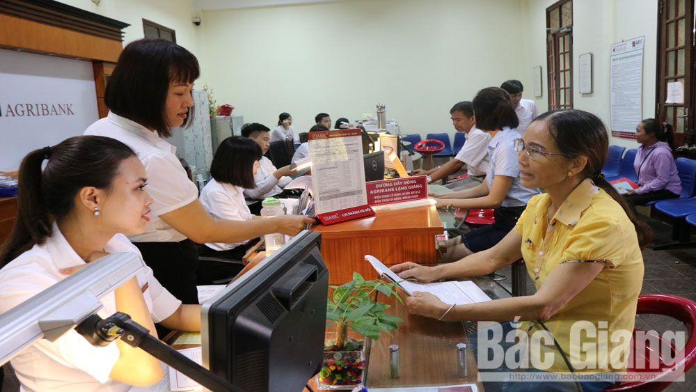 ngân hàng, tín dụng đen, Bắc Giang