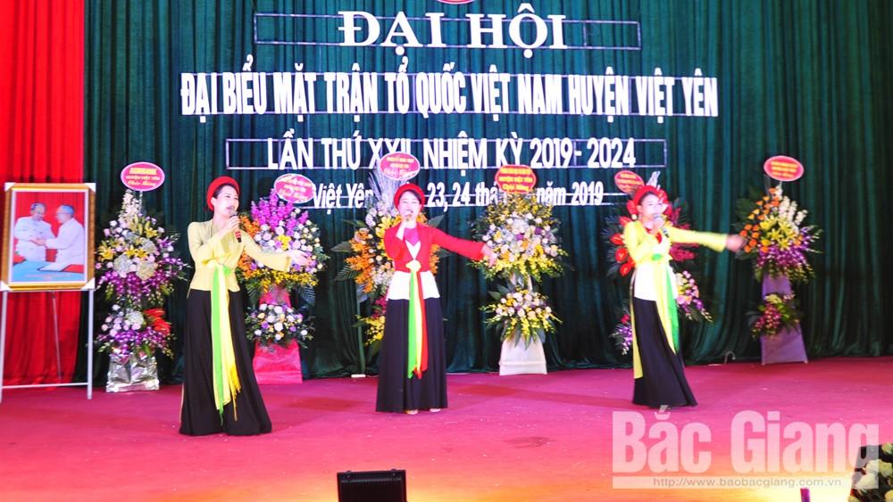 Đại hội Ủy ban MTTQ huyện Việt Yên, huyện Việt Yên, tỉnh Bắc Giang