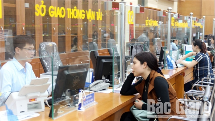 Department of Transport, Bac Giang city top public administration reform index in 2018