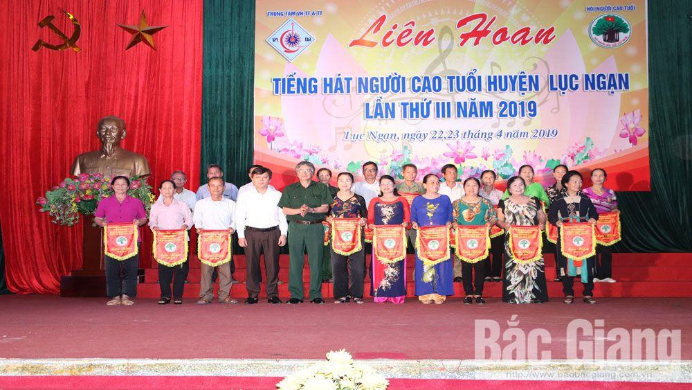 Tỉnh Bắc Giang, Huyện Lục Ngạn, liên hoan người cao tuổi