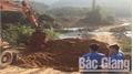 Sơn Động tập trung xử lý tình trạng khai thác cát, sỏi trái phép, xe cơi nới thành thùng