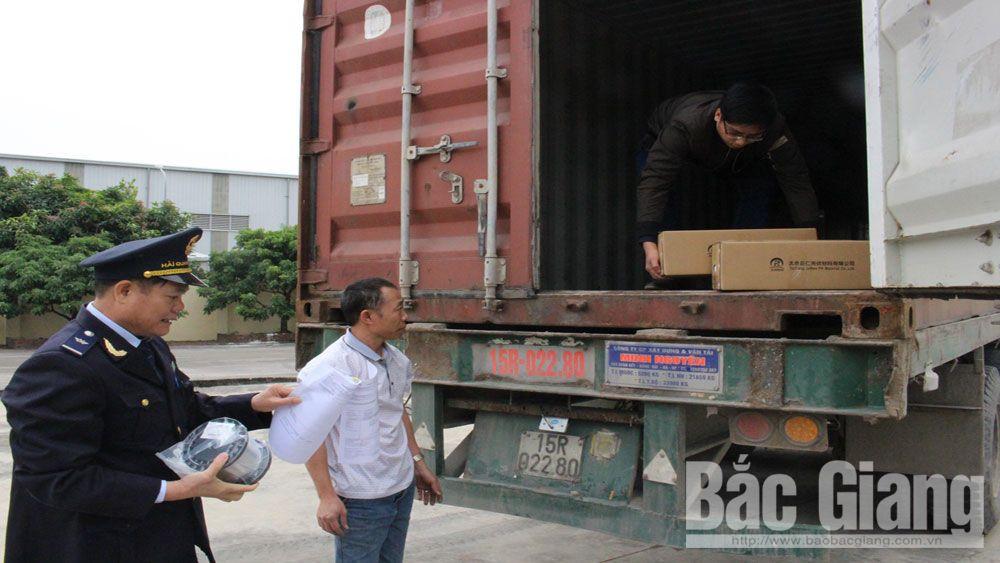 gian lận thương mại, buôn lậu, Bắc Giang, Chi cục Hải quan quản lý các khu công nghiệp (KCN) tỉnh Bắc Giang