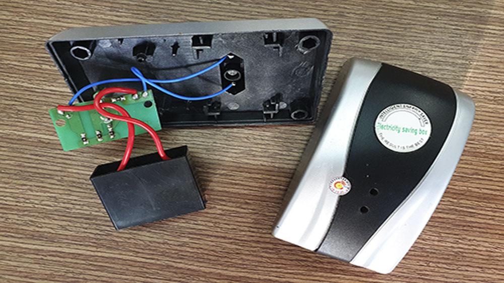 Người dùng, bị lừa, mua 'thiết bị tiết kiệm điện'