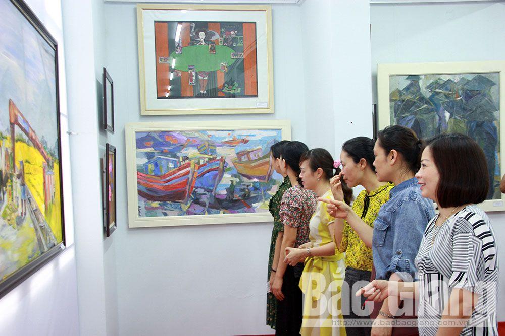 Bắc Giang, Mỹ thuật, văn hóa, Duy Lập, Văn Tơn, quan họ