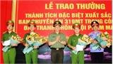 Thưởng Ban chuyên án thu giữ 700 kg ma túy đá ở Nghệ An