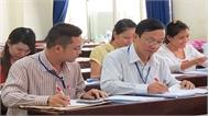 Trường Đại học Mỏ Địa chất chủ trì chấm trắc nghiệm kỳ thi THPT quốc gia 2019  tại Bắc Giang