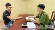 Công an thành phố Bắc Giang tìm ra đối tượng cướp giật tài sản